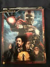 Iron Man 2 4K Ultra HD Steelbook no Bluray/Digital Marvel FREE SHIPPING
