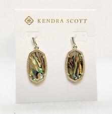 Kendra Scott Dani Drop Earrings In Abalone Pearl / Gold