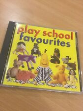 PLAY SCHOOL FAVOURITES ~ 30 SONGS FROM YOUR FAVOURITE ALBUMS ~ CD ~ ABC For Kids
