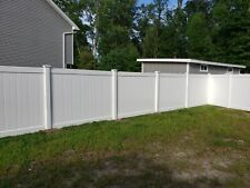 Privacy Fence comes in multi colors&styles 6 ft. x 8 ft. White Vinyl Fence Panel