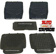 Premium Quality Anti-Slip Rubber Silicone Floor Mats for Maruti Esteem- 5pc