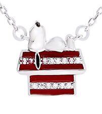 Newaffy Jewelry Black And Red Enamel White Cz Sunupi House Cham Pendant Necklace