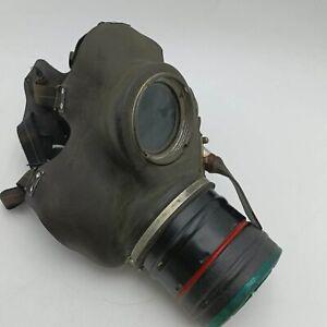 Vintage 1940's Civil Service Gas Mask Respirator P.B.C. May 39 [G+] World War II
