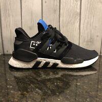 Adidas Men's Originals EQT Support 91/18 Running Shoe D97061 Black Blue 8 9 10.5