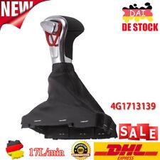 für Audi A6 4G 4F Q7 Leder Schaltknauf Automatik Knauf Manschette