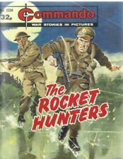 THE ROCKET HUNTERS,COMMANDO WAR STORIES IN PICTURES,NO.2334,WAR COMIC,1989