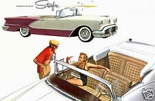 1956 Oldsmobile Starfire Convertible, Refrigerator Magnet, 40 MIL Thick