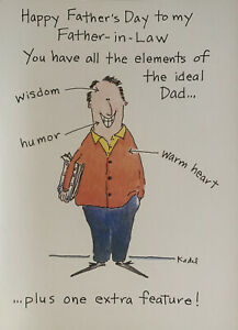 Funny Father's Day Greeting Card - Father-in-Law