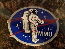 NASA Astronaut MMU Vintage 1980 MMU Manned Maneuvering Unit Sticker