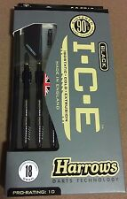 Harrows Black I.C.E 18g Soft Tip Darts 90% Tungsten 54333 w/ FREE Shipping