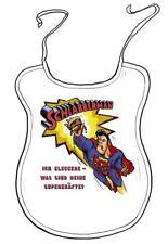 """Latz für Erwachsene """"Schlabberman: Ich kleckere - was sind deine Superkräfte?"""""""