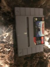 U.N. Squadron (Super Nintendo Entertainment System, 1991) cart only tested