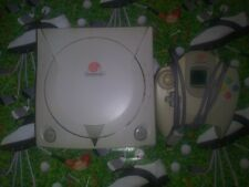 SEGA Dreamcast White Console HTK 3020 with Controller TESTED WORKING!