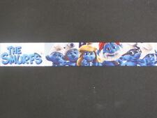 """the smurfs grosgrain ribbon 7/8"""" per 1 m hair scrapbooking card making"""