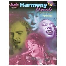 Harmony Vocals: The Essential Guide by Mike Campbell Paperback Book-Hal Leonard