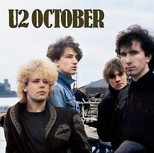 October by U2 (CD, Jun-1990, Island (Label))