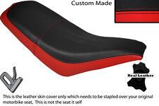 BLACK & RED CUSTOM FITS KAZUMA FALCON 110 150 250 ATV QUAD LEATHER SEAT COVER