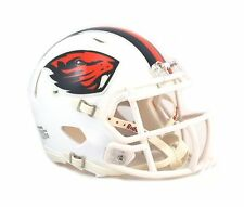 Oregon State Beavers WHITE 2013 Riddell NCAA Football SPEED Mini Helmet