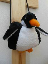 Penguin Muff Hand Warmer Cuddly Black White Penguin by North Am. Bear Age 3+