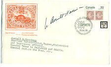 First Day Cover Signed by - Averell W. Harriman , American Industrialist etc.