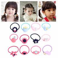 10PCS Elastic Hair Band Ties Rope Ponytail Holder Women Girls  Hair Accessories