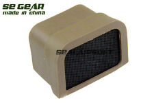SE GEAR Airsoft Protective Lens Cover With Mesh For 551 Dot Sight DE SE-CR0006B