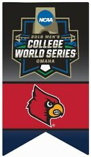 2019 Louisville Cardinals College World Series Pin Cws Program & Patch In Store