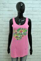Maglia LIU-JO BEACHWEAR Donna Taglia Size L Maglietta Canotta Shirt Woman Cotone