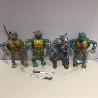 """TMNT Classic Rocksteady Action Figure 6"""" Teenage Mutant Ninja Turtles Donatello"""