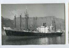 MS Straat Magelhaen Photo Postcard - KJCPL Royal Interocean Lines 1863