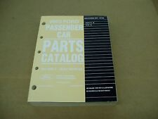 2005 Ford Freestyle Focus parts catalog book illustrated manual FACTORY