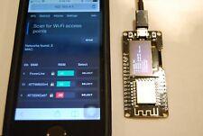 "NODEMCU Wemos Wifi ESP8266 ESP-12F CP2102 Micro USB Board +0.96""OLED - Flashed"