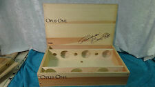 2009 OPUS ONE ROBERT MONDAVI WOOD WINE BOX COMPLETE WITH INSERTS
