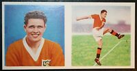Blackpool   Perry  Vintage Double Picture  Colour  Footballer Card # EXC
