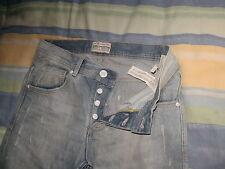 Jeans Jean ZARA   slim T38 mode vintage tres bon etat RARE authentique