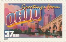 US 3730 Greetings from Ohio 37c single MNH 2002