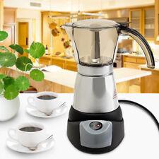 QUICK Portable 6 Cups Family Electric Espresso Coffee Maker Percolator Moka Pot