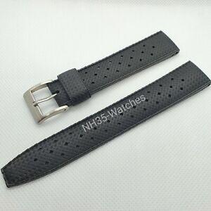 22mm NH35-Watches FKM Rubber Tropic Strap, Tuna, Seiko, SKX, Turtle, Samurai, 5