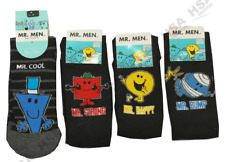 Mr Mens Novelty Character Cartoon Socks,Mr Happy/Bump/Strong/Cool,Christmas Gift