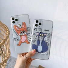 Funny Tom And Jerry TPU Phone Case Cover For iPhone 11 Pro Max XR Xs 7 8 6s Plus
