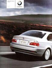 2006 06 BMW 3 Series Coupe   original sales Brochure
