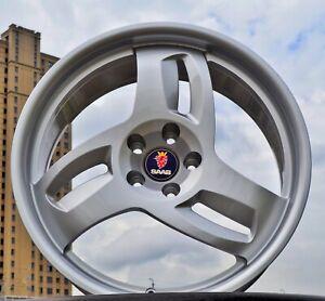 STRFORGED OR046 Custom Forged 3 Spoke Wheels for SAAB 93 95 900 AERO Turbox Rims