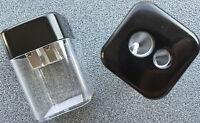 Anspitzer Dose Auffangdose 2 Größen Spitzer Anspitzdose Bleistiftspitzer doppel