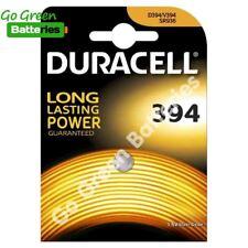 1 xDURACELL 394 1.5 V Reloj De Óxido De Plata Batería D394 V394 V524 SR45 AG9 625 SR936