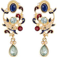 Fashion Women Elegant Drop Dangle Lovely colour Enamel Earrings Party Jewelry BJ