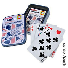 Ford Transit Haynes Workshop Manual OFFICIAL Playing Cards in a Tin