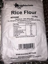 Rice Flour 12.5 kg Middleton Foods gluten free Catering Pack fish and chips