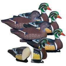 Higdon Foam-filled Standard Wood Duck Decoys, 6 Pack