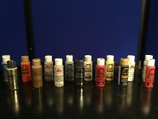 Lot of 16 Various Colors 2 oz Acrylic Paint - 11 New