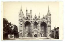 Peterborough Cathedral on cdv